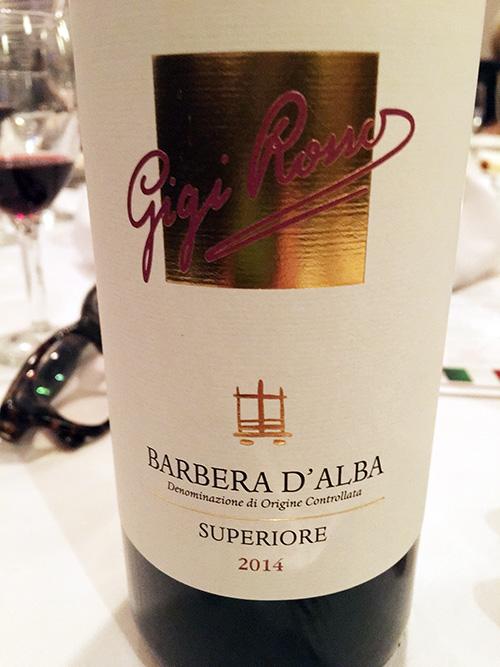 Gigi Roma Bareber d'Alba Superiore 2014