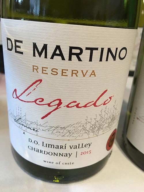 De Martino Legado Chardonnay Reserva 2015