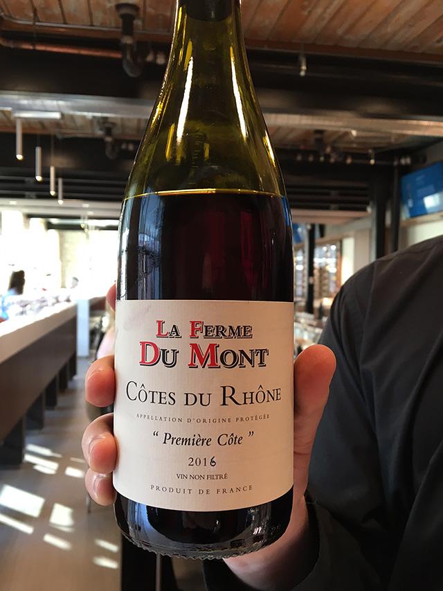 La Ferme du Mont Côtes du Rhône 2016