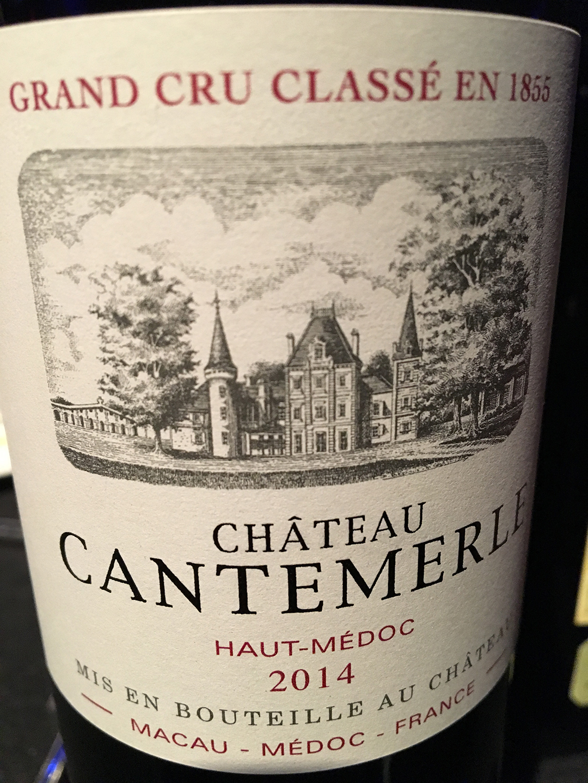 Château Cantemerle 2014, Haut-Médoc