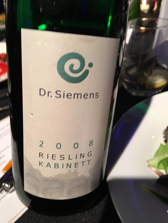 Dr. Siemens Riesling Kabinett 2008