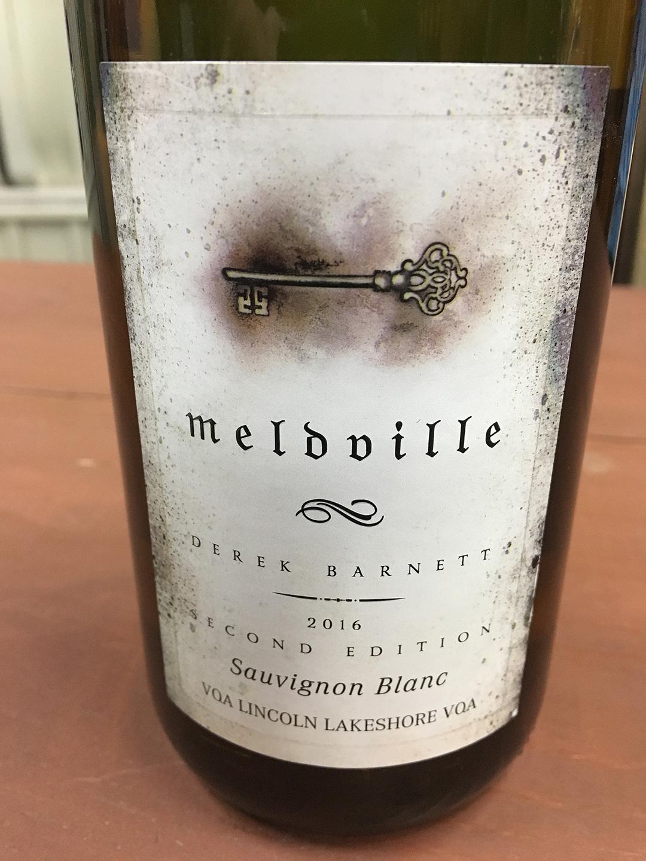 Meldville Sauvignon Blanc 2016