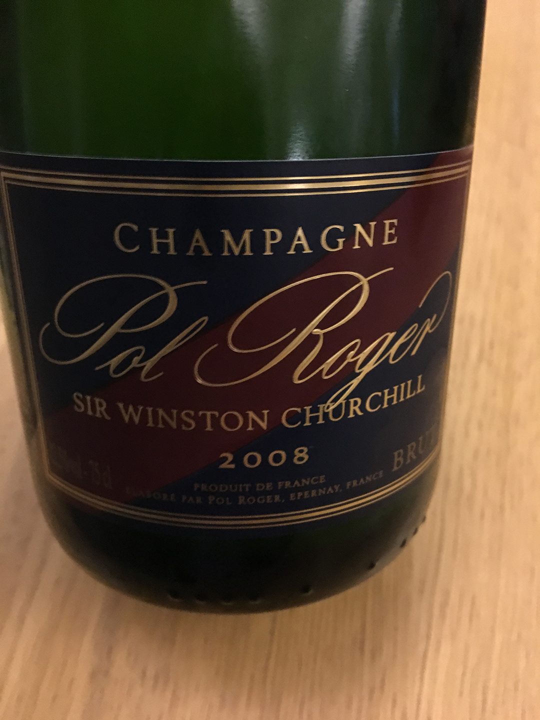 Pol Roger Sir Winston Churchill 2008