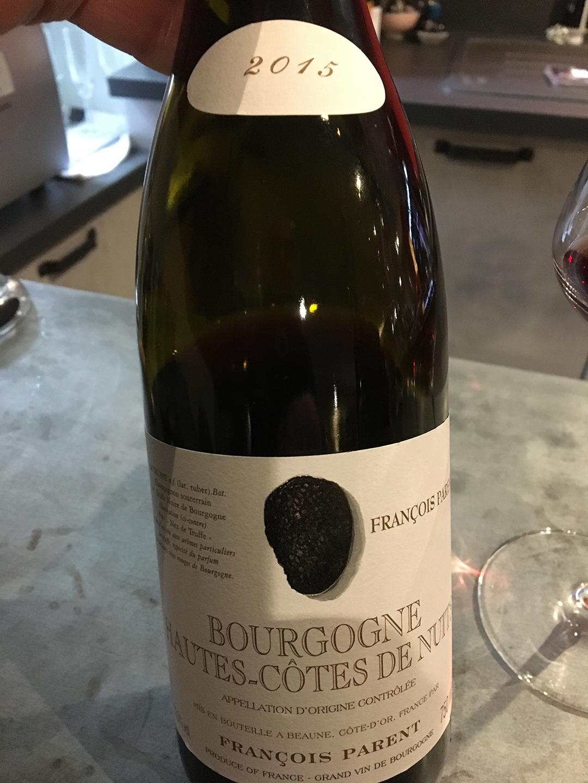 François Parent Bourgogne Houtes-Côtes de Nuit