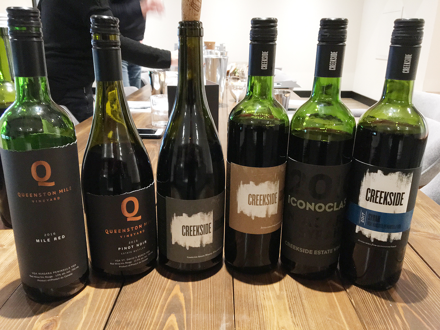 the six bottles of red wine that are reviewed