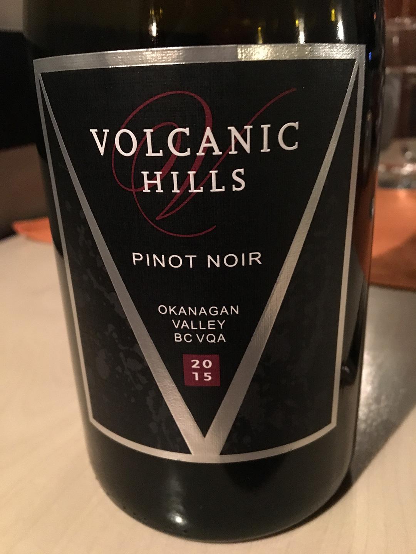 Volcanic Hills Pinot Noir 2015