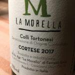 La Morella Colli Tortonesi Cortese 2017