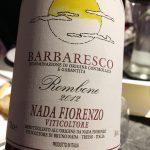 Barbaresco Rombone 2012