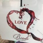 Fontanafredda sign: I LOVE BAROLO