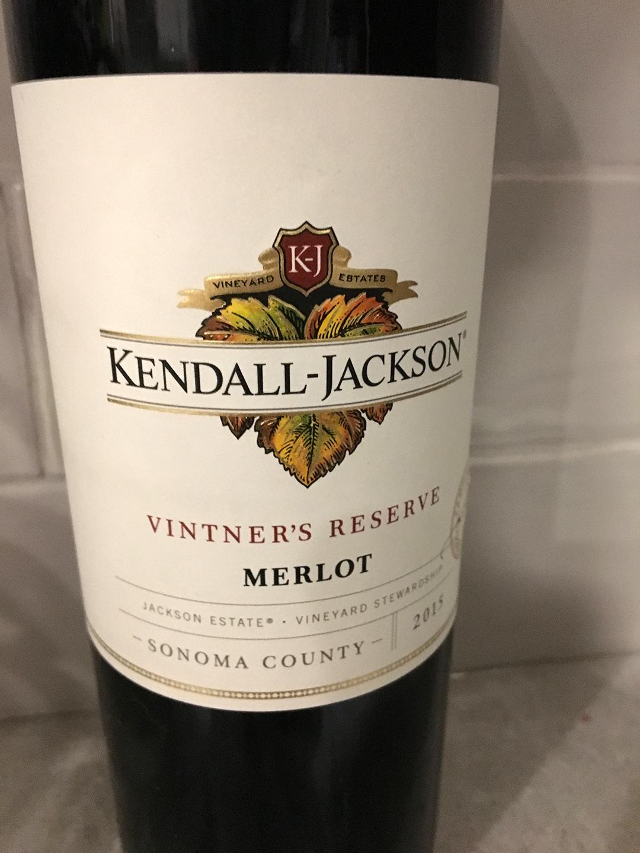 Kendall-Jackson Vintner's Reserve Merlot 2015