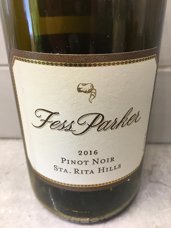 Fess Parker Pinot Noir 2016