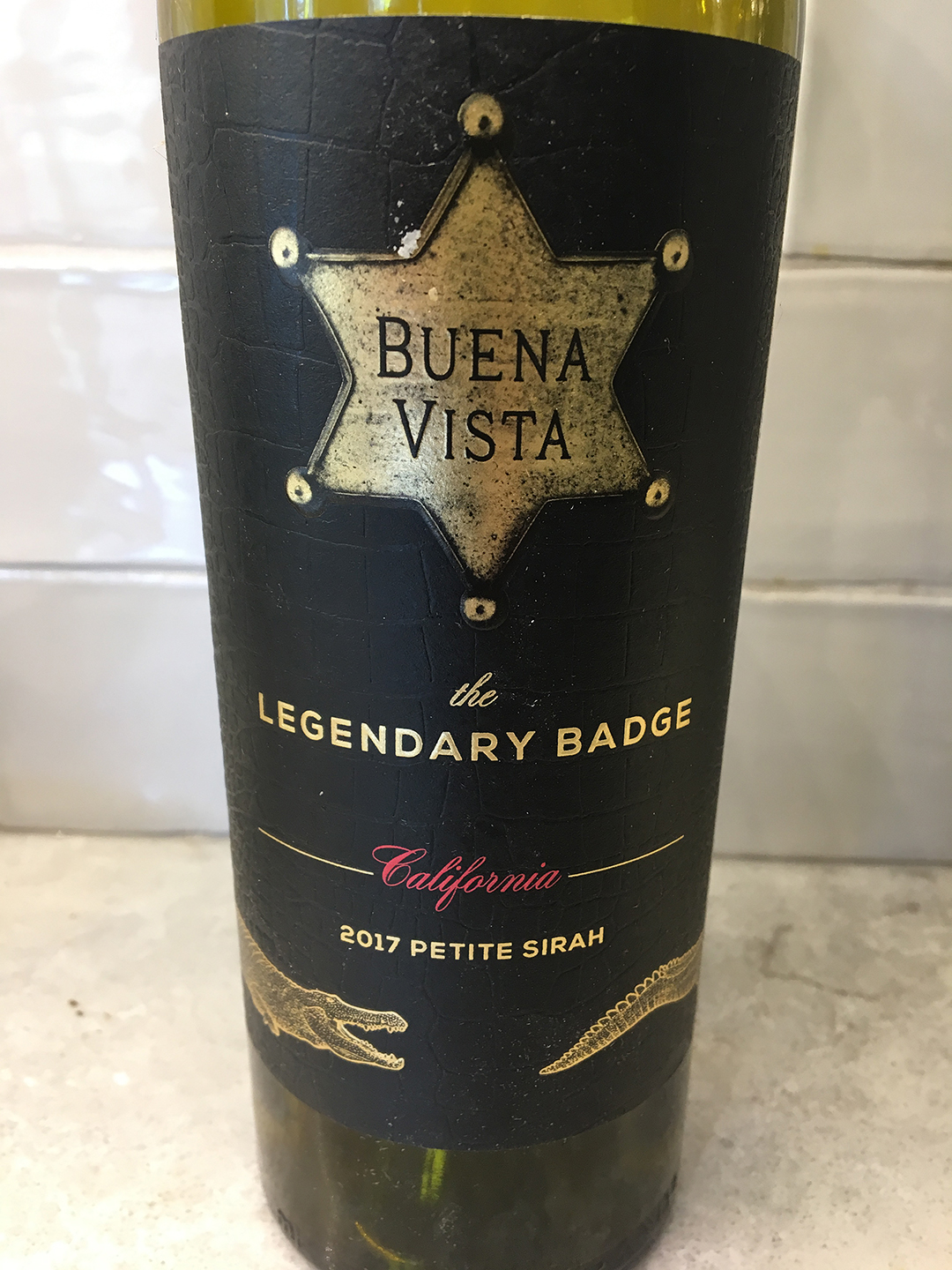 Buena Vista The Legendary Badge Petite Sirah 2017