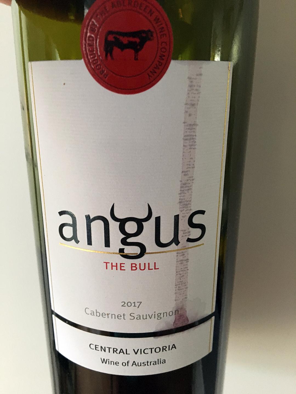Angus The Bull Cabernet Sauvignon 2017