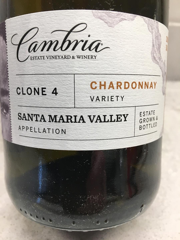 Cambria Clone 4 Chardonnay