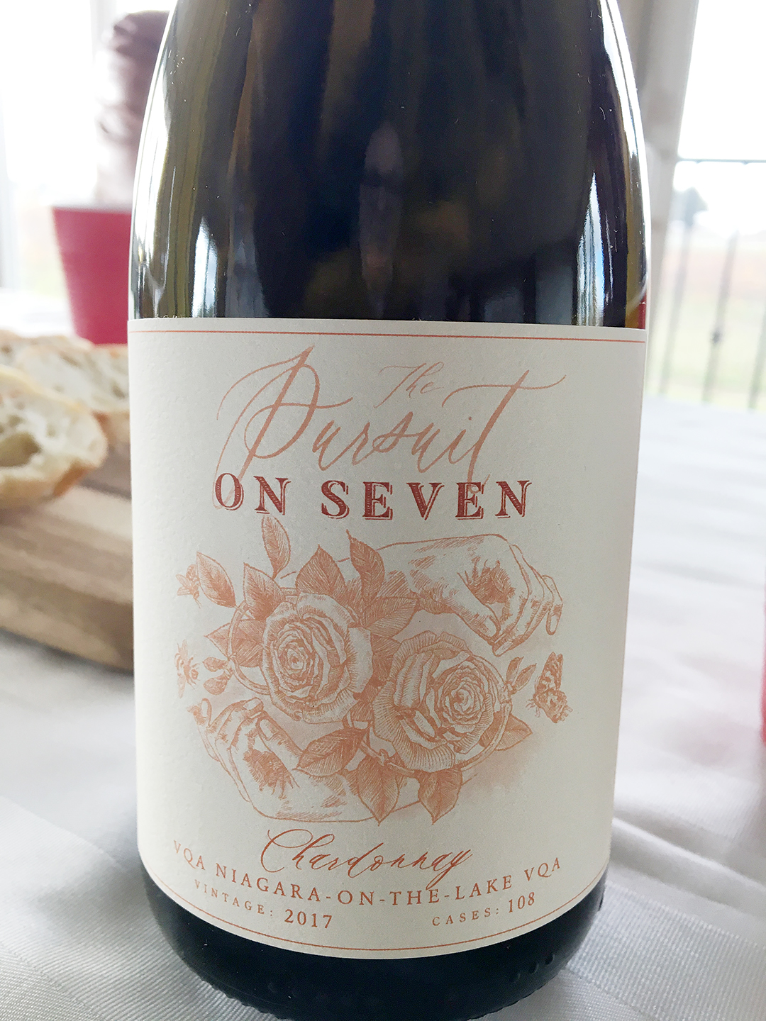 On Seven Pursuit Chardonnay 2017