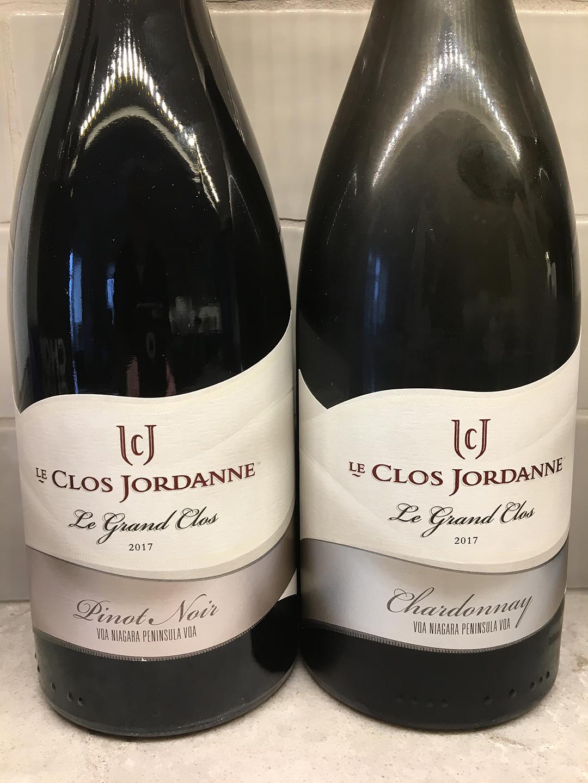 Le Clos Jordanne Le Grand Clos Pinot Noir and Chardonnay 2017