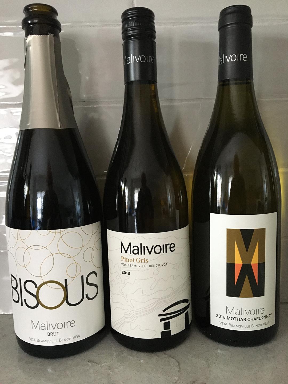 Malivoire wines tasted