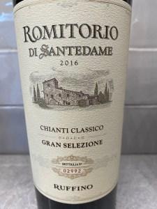 Ruffino Romitorio di Santedame Chianti Classico Gran Selezione 2016