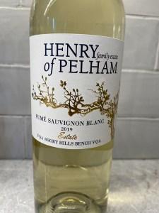 Henry of Pelham Sauvignon Blanc 2019
