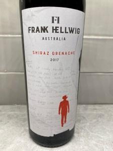 Frank Hellwig Shiraz Grenache 2017