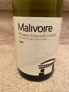 Malivoire Wismer-Foxcroft Gamay 2019
