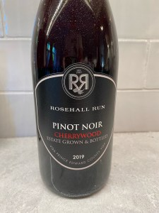 Rosehall Run Small Lots Cherrywood Pinot Noir 2019