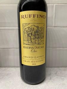 Ruffino Chianti Classico Riserva Ducale Oro Gran Selezione 2016