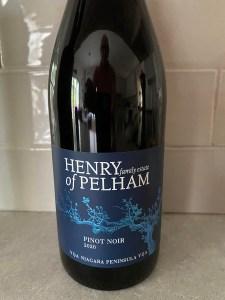 Henry of Pelham Pinot Noir 2020
