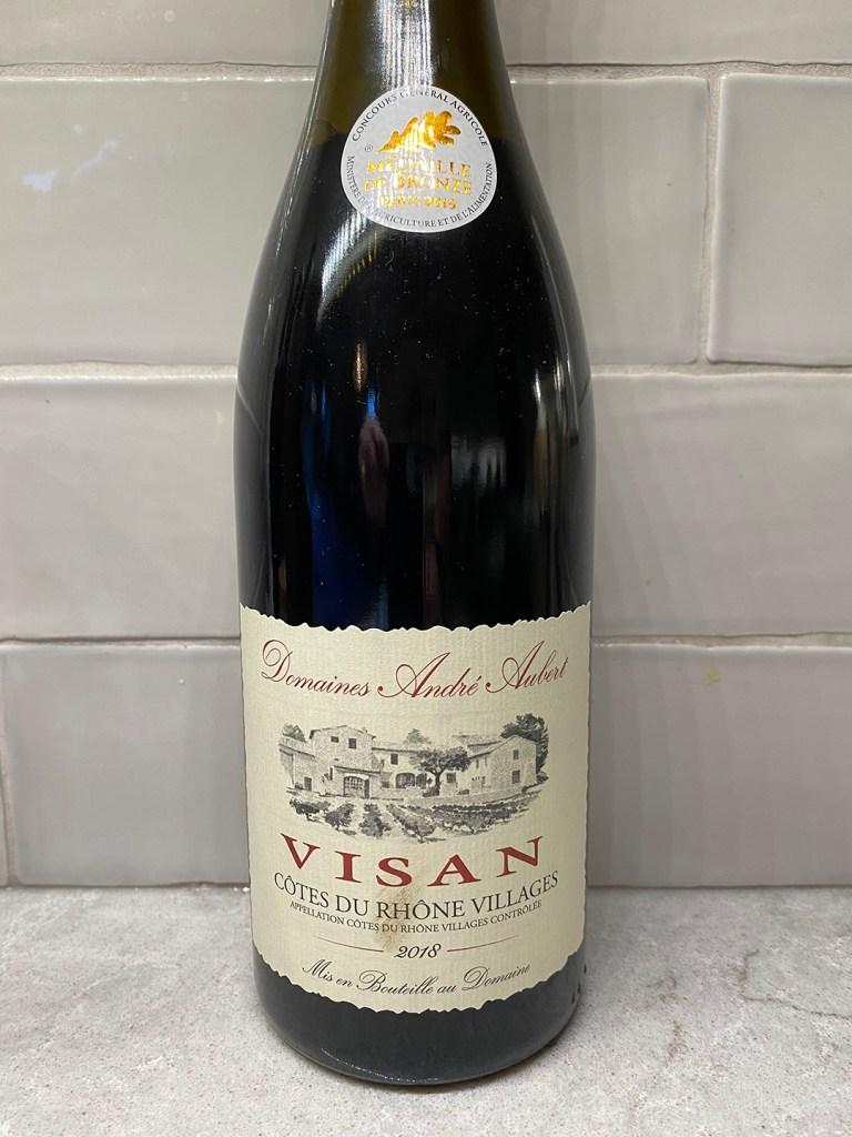 Domaines André Aubert Visan Côtes du Rhône-Villages 2018